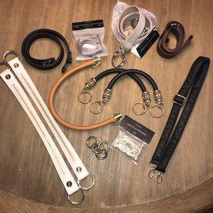Miche straps & hardware